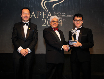 Asia Pacific Entrepreneurship Award 2014