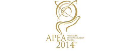 Asia Pacific Entrepreneurship Award 2014 Logo